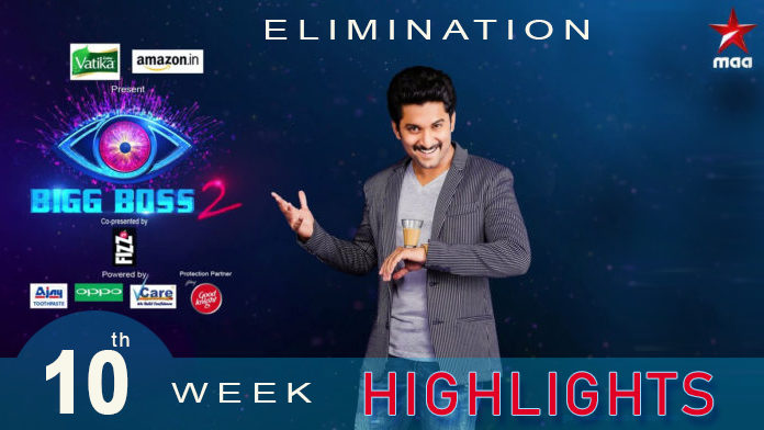 Bigg Boss 2 Telugu 10th week highlights/Elimination