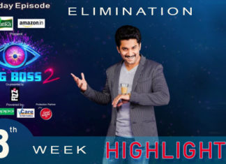 Bigg Boss 2 telugu 8th week elimination highlights