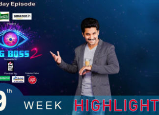 Bigg Boss 2 telugu 9th week Saturdays Episode Highlights