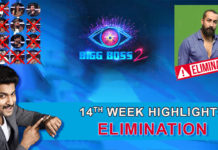 Bigg Boss 2 telugu 14th week elimination highlights