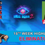 Bigg Boss 2 telugu 15th week elimination highlights