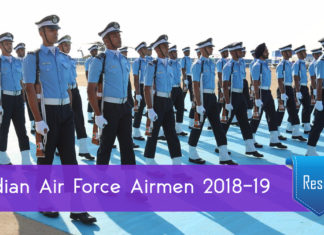 Indian Air Force Airmen Results 2018-19 Announced