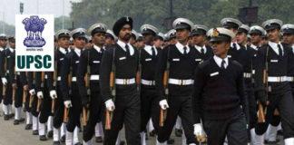UPSC - NDA & NA Exam 392 Vacancies - Apply Online