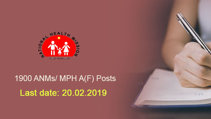 1900 ANMs/ MPH A(F) Posts 2019