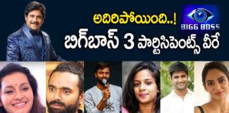 Bigg Boss Telugu Season 3 Contestants List • girgitnews